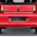 Skoda Citigo Rear Boot Strip Chrome look
