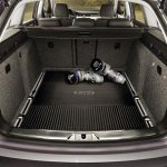 Skoda Superb II Rubber Bootliner – Vehicles with Raised Boot Floor or Partition System