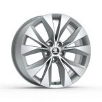 Skoda Superb III Cassiopeia 18″ Alloy Wheel – Silver