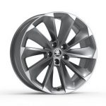 Skoda Superb III Supernova 19″ Alloy Wheel – Anthracite
