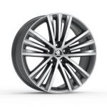Skoda Superb III  Sirius 19″ Alloy Wheel – Anthracite