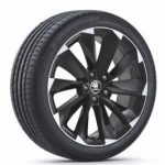 Skoda Superb III Supernova 19″ Alloy Wheel – Black
