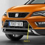 SEAT Ateca Front Grille Moulding – Silver