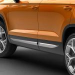 SEAT Ateca Door Side mouldings – Silver