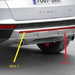 SEAT Ateca Rear Bumper Off Road Styling Additional Trim – Emotion Red