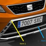 SEAT Ateca Front Bumper Off Road Styling Trim