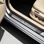 Skoda Octavia III Door Sill Covers , Stainless Steel