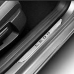 SEAT Leon 5dr & ST  Inox Stainless Steel Sill Guards