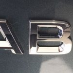 "Skoda Fabia III  Chrome "" Fabia "" Tailgate Badge"