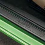Skoda Rapid Sill Guards With Rapid Inscription