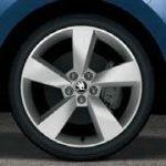 Skoda Fabia III & Rapid Alloy Wheel Camelot 17″ – Silver