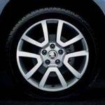 Skoda Yeti Sport Alloy Wheel Spitzberg   17″