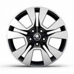Skoda Yeti Sport  Alloy Wheel Origami Black   17″