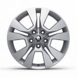 Skoda Yeti Sport Alloy Wheel Origami   17″