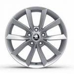 Skoda Yeti Scudo Alloy Wheel Silver 17″