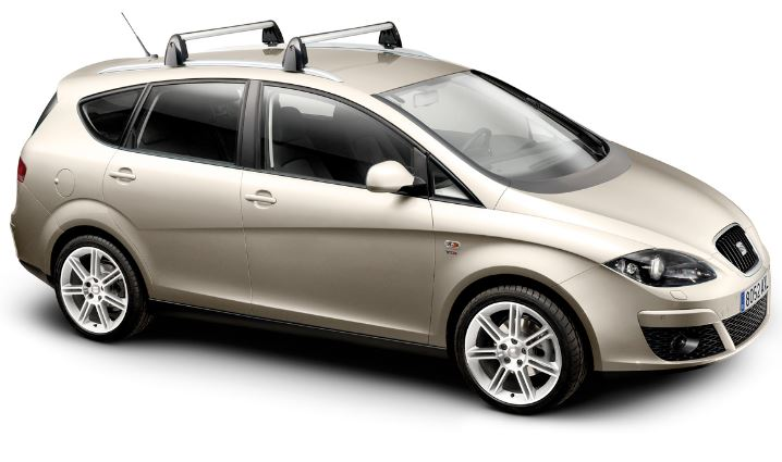 seat altea xl roof bars caffyns seat skoda. Black Bedroom Furniture Sets. Home Design Ideas
