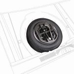 Skoda Fabia II Spare Wheel Kit