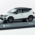 SEAT Arona 1/43 Scale White Model Car