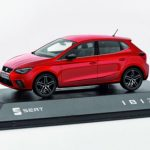 SEAT Ibiza 1/43 Scale Red Model Car