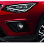 SEAT Arona Black Fog lamp Surrounds