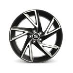 SEAT Ibiza 17″ 5 Spoke Anthracite  Alloy Wheel