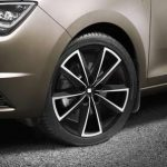 SEAT Toledo 17″ Black Alloy Wheel