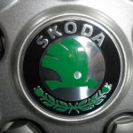 Skoda Original Alloy Wheel Centre Caps (Set 4)