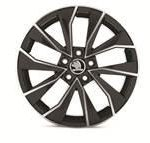 Skoda Fabia III Alloy Wheel Italia 16″ – Metallic Black