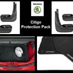 Skoda Citigo Protection Pack  ( Mats, Mudflaps, Boot Mat )