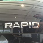 "Skoda Rapid Rear Chrome ""Rapid"" Badge"