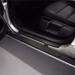 Skoda Octavia II Door Sill Covers – Black
