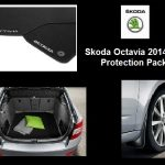Skoda Octavia III Hatch Protection Pack  ( Mats, Mudflaps, Boot Mat )