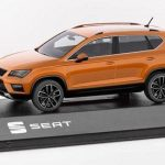 SEAT Ateca 1/43 Scale Samoa Orange Model Car