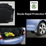 Skoda Rapid Protection Pack  ( Mats, Mudflaps, Boot Mat )