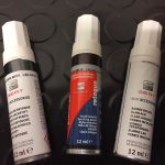 SEAT Soberano Red Touch up Paint S3W