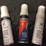 SEAT Deep Black Touch Up Paint C9X