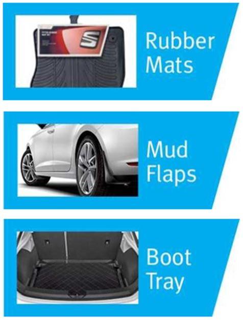 Seat Leon Sc 3door Amp 5 Door Hatch Protection Pack Set