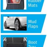 SEAT Ibiza Estate Protection Pack ( Set 4 Tailored Rubber Mats, Set 4 Mudflaps & Boot Load Liner)