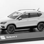 SEAT Ateca 1/43 Scale White Model Car