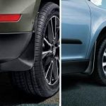 Skoda Yeti Set 4  Mudflaps 2014 on Outdoor Model Only