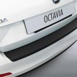 Skoda Octavia III Estate Rear Bumper Protector – Black