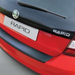 Skoda Rapid Spaceback Rear Bumper Protector